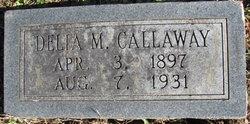 Delia M. <I>Garner</I> Callaway