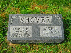 Alice Lowe <I>Johnston</I> Shover