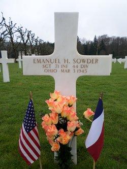 Sgt Emanuel Howard Sowder