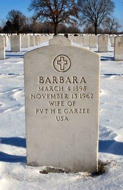 Barbara Garzee