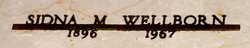 Sidna Mae <I>Farrar</I> Wellborn