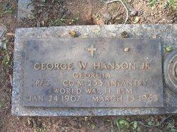PFC George Washington Hanson Jr.