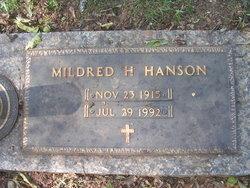 Mildred Blondine <I>House</I> Hanson