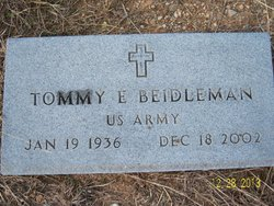 Tommy E Beidleman