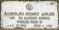 Rudolph Henry Adler
