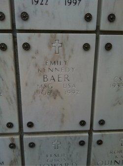 Emily <I>Kennedy</I> Baer