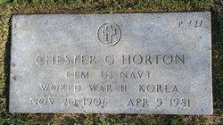 Chester Garfield Horton