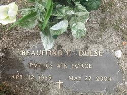 Beauford Carroll Deese