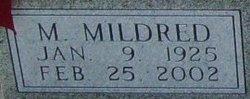 Mary Mildred <I>Baker</I> Holt