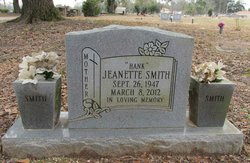 Jeanette <I>Hank</I> Smith