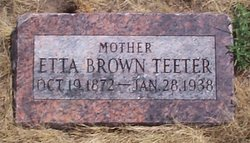 Etta Florence <I>Berry</I> Teeter