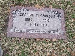 Georgia M. <I>Clements</I> Carlson
