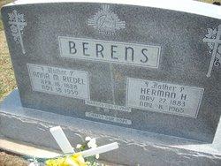 Anna Marie <I>Riedel</I> Berens