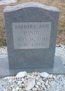 Barbara Ann Handy