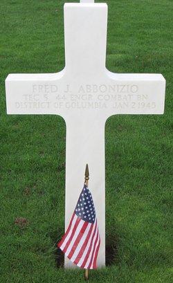 Tec5 Fred Joseph Abbonizio