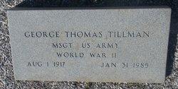 George Thomas Tillman