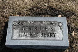 Gertrude <I>Scruggs</I> Haukenberry