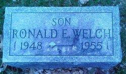 Ronald Eugene Welch