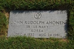 John Rudolph Ahonen