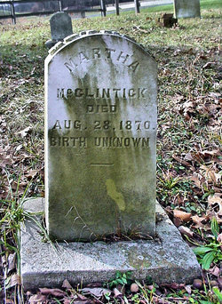 Martha <I>Harrison</I> McClintick