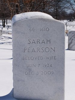 Sarah <I>Pearson</I> Adams