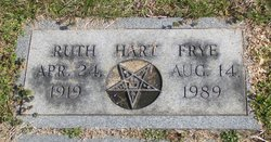 Ruth <I>Hart</I> Frye