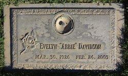 """Evelyn """"Abbie"""" <I>Zucker</I> Davidson"""