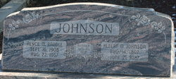 Alyce M <I>Randle</I> Johnson
