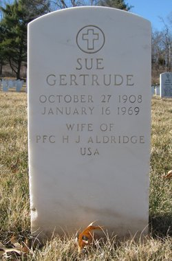 Sue Gertrude Aldridge