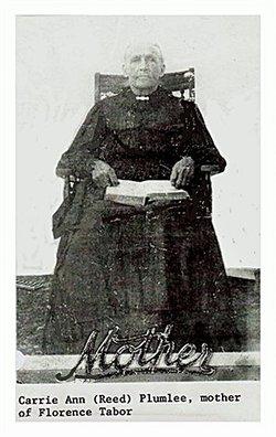 Carrie Ann Reid Barton Plumlee