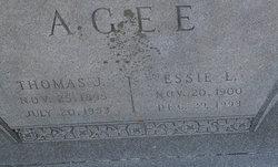 Essie Leoria <I>Embry</I> Agee