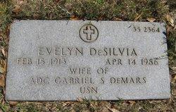 Evelyn Desilvia <I>O'Neal</I> Demars