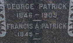 Frances Almira <I>Wood</I> Patrick