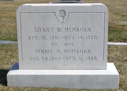 Minnie H <I>McMahan</I> McMahan