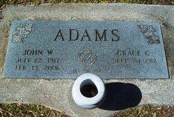 Grace <I>Campbell</I> Adams