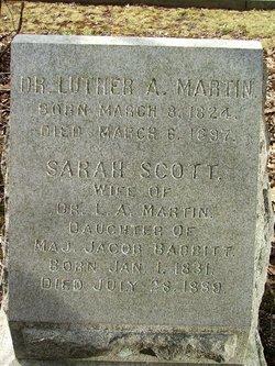Sarah Scott <I>Babbitt</I> Martin