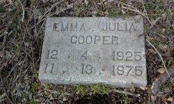 Emma Julia <I>Butler</I> Cooper