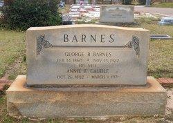 George B Barnes