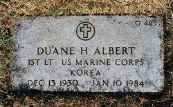 Duane Harland Albert