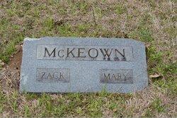 "Zacharia ""Zack"" McKeown"