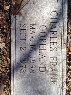 "Charles Franklin ""Bryans"" Copeland"