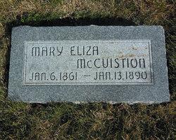 Mary Eliza <I>DeLaMare</I> Mccuistion