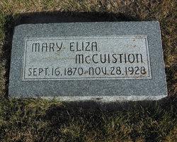 Mary Eliza H. <I>Kirk</I> McCuistion