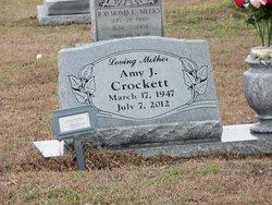 Amy <I>James</I> Crockett