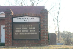 Wayman AME Chapel Cemetery