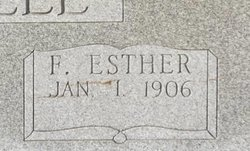 Florence Ester Mitchell