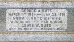 Lewis W Nute