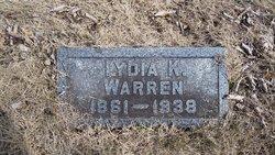 Liddia Kisiah <I>Poe</I> Warren