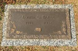 Louise <I>Grubbs</I> Baker
