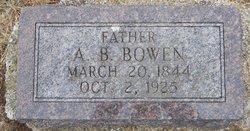 A. B. Bowen